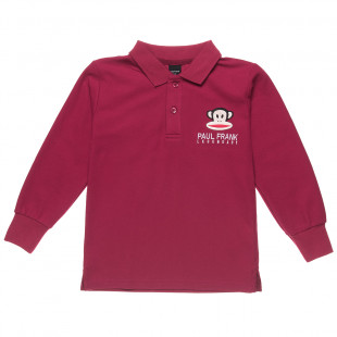 Long sleeve top Paul Frank with embroidery (6-14 years)