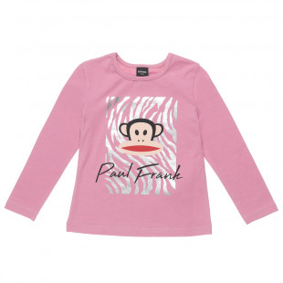 Μπλούζα Paul Frank με γυαλιστερή foil λεπτομέρεια (2-5 ετών)