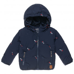 Jacket with fleece lining and embroidery (6 months-5 years)