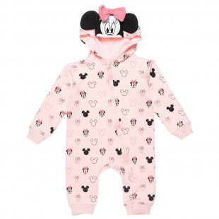 Babygrow Disney Minnie Mouse with 3D ears (1-12 months)