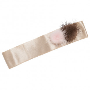 Κορδέλα Μαλλιών με πομ πομ (1-5 ετών)
