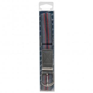 Elastic striped belt