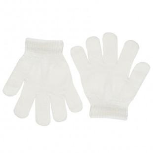 Γάντια πλεκτά μονόχρωμα (3-5 ετών)