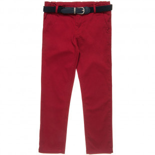 Chino Trousers with Belt (6-16 years)