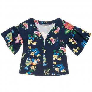Floral cardigan (6-14 years)