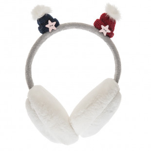 Fluffy Earmuffs with decorative stars (6-16 years)