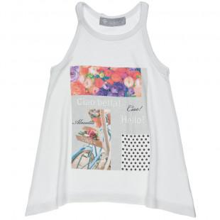 Μπλούζα με maxi τύπωμα (2-5 ετών)