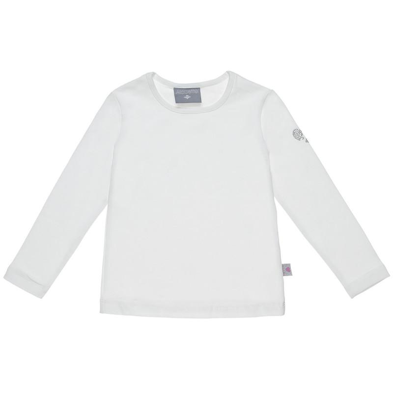 Μπλούζα με στρας λεπτομέρεια στο μανίκι (2-5 ετών)