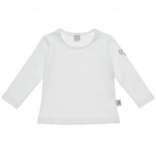Long sleeved top with strass detail (6-18 months)